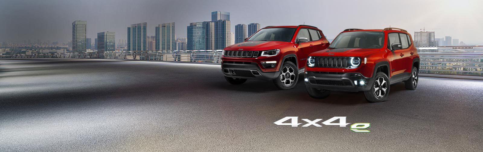 Die neuen Jeep® Plug-In Hybrid Modelle