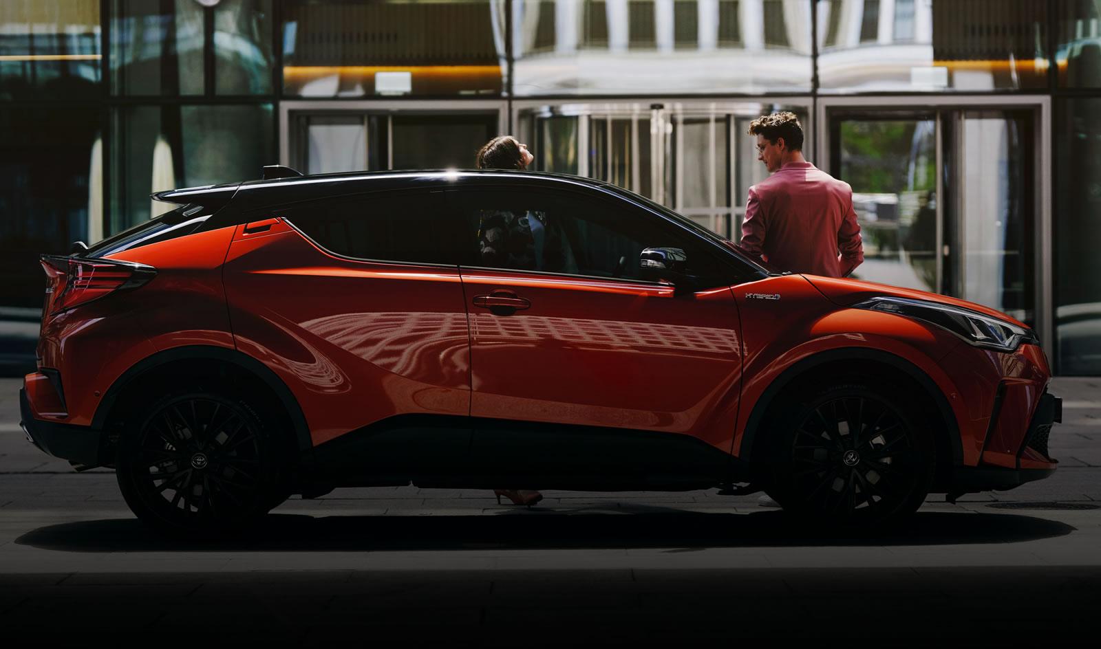 Der neue Toyota C-HR Hybrid Bereit für besonders.